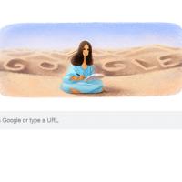 Google Doodle honors 'Taiwan's wandering writer' San Mao