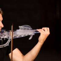 全球第一把3D列印小提琴