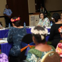 Tsai: Taiwan to play even stronger role in gender equality in Pacific islands