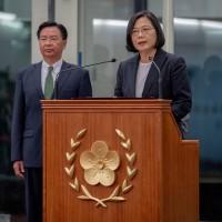 蔡總統返抵國門 將繼續帶領台灣尊嚴、驕傲地走向世界