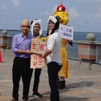 Kaohsiung college students reenact Han 'selling Taiwan' to China