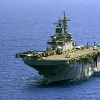 USS Wasp arrives in Philippines for annual 'Balikatan' military exercises