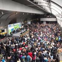 捷運100億人次現蹤!呼叫3/31出沒中和新蘆線新莊站旅客