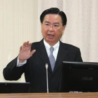 中國軍機越中線 吳釗燮:第一時間通知夥伴國家