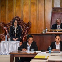 Video shows Nauru Parliament recognize Taiwan as independent nation