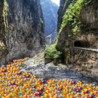 Honoring Children's Day in Taiwan, Taroko Gorge to be Child-Proofed