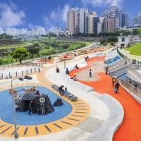 北市最大共融式河濱遊戲場 兒童節開放
