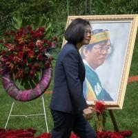 喻假消息有如恐怖主義 蔡英文:全力捍衛台灣民主
