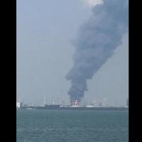 麥寮六輕台化廠驚傳爆炸 消防隊救援中