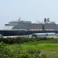 Westerdam cruise liner returns to Hualien, Taiwan