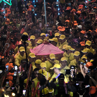 Taiwan's annual Dajia Matsu Pilgrimage begins with over 50,000 people