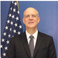 U.S. Deputy Assistant Secretary of State David Meale arrives in Taiwan Tuesday