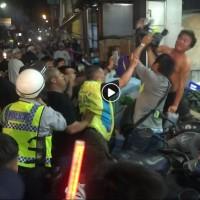 Video shows chaos when 'White Wolf' crashes Taiwan's Dajia Matsu Pilgrimage