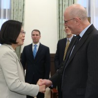 Taiwan President presses bilateral trade agreement with US