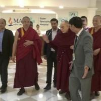 達賴喇嘛「輕微咳嗽」住院3天 今康復出院