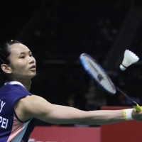 Taiwan badminton champion Tai advances to semis at Singapore Open