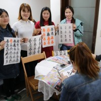 越南新住民免費教越配學中文  興學義舉做公益