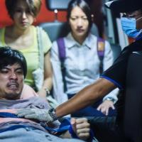「我們與惡的距離」收視率再攀升,演員林哲熹(左)演技深受好評(圖/官方臉書)