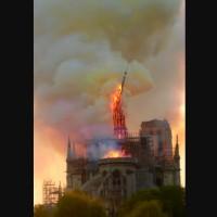 驚聞巴黎聖母院失火 台灣天主教徒難過、震驚