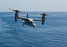 駐日美軍:10月在東京橫田基地部署魚鷹機