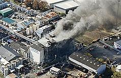 日本化學工廠大爆炸1死14傷 居民緊急撤離