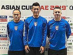 台灣男足27日迎戰新加坡 懷特:我們渴望勝利