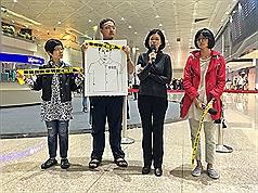探監返台 李凈瑜:李明哲發言通訊權遭剝奪