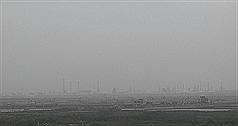 五年來最嚴重沙塵暴 台西AQI褐爆達最高值