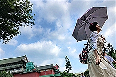 38.2° measured in Taipei Sunday marks hottest day in May in 27 years
