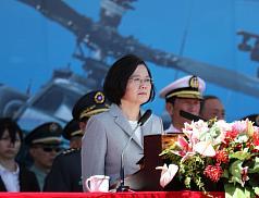 阿帕契直升機成軍 蔡英文:國軍戰力提升指標