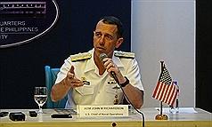 美國海軍軍令部長:台灣可以相信美國!