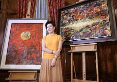 畫作製作成APEC外交禮品 張淑芬:對我來講是一個榮耀