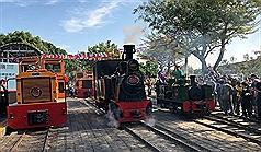 臺英簽署鐵道合作備忘錄 英經典蒸汽火車頭鳴笛見證