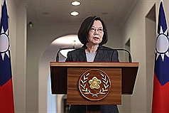 China's political oppression set cross-strait relations back: Taiwan President