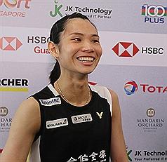 Taiwan's Tai defeats world's No. 4 to reach Singapore Open final