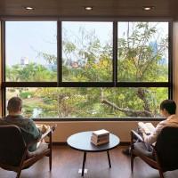 高雄、台中李科永圖書館引入戶外美景 與公園環境相依共存